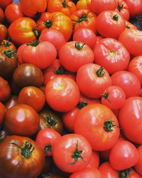 Tomates d'antan de la Région